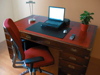 Get a comfortable workspace to sit and work